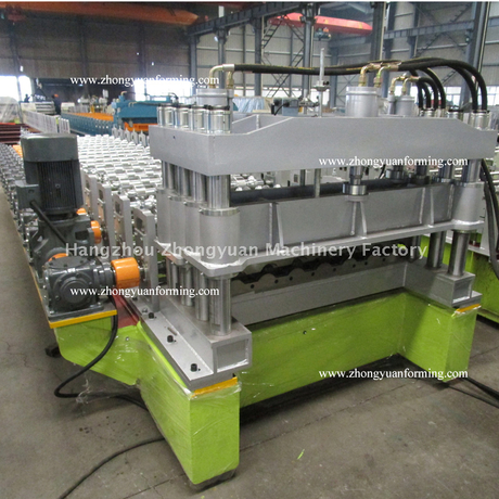 Metropo Tile Roll Forming Forming Machine with Gear Box Transmission