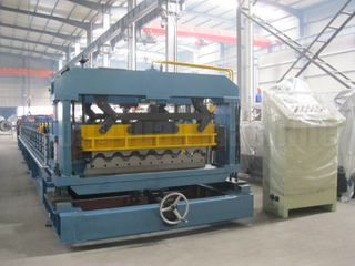 Metrocopo Tile Roll former Machine