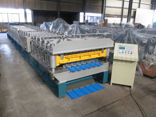 Lifetime Service Double Layer Roll Forming Machine