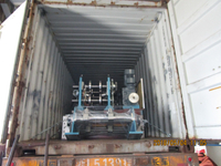 Delivery of Automatic CZ Purlin Roll Forming Machine to Qatar on May 04,2018