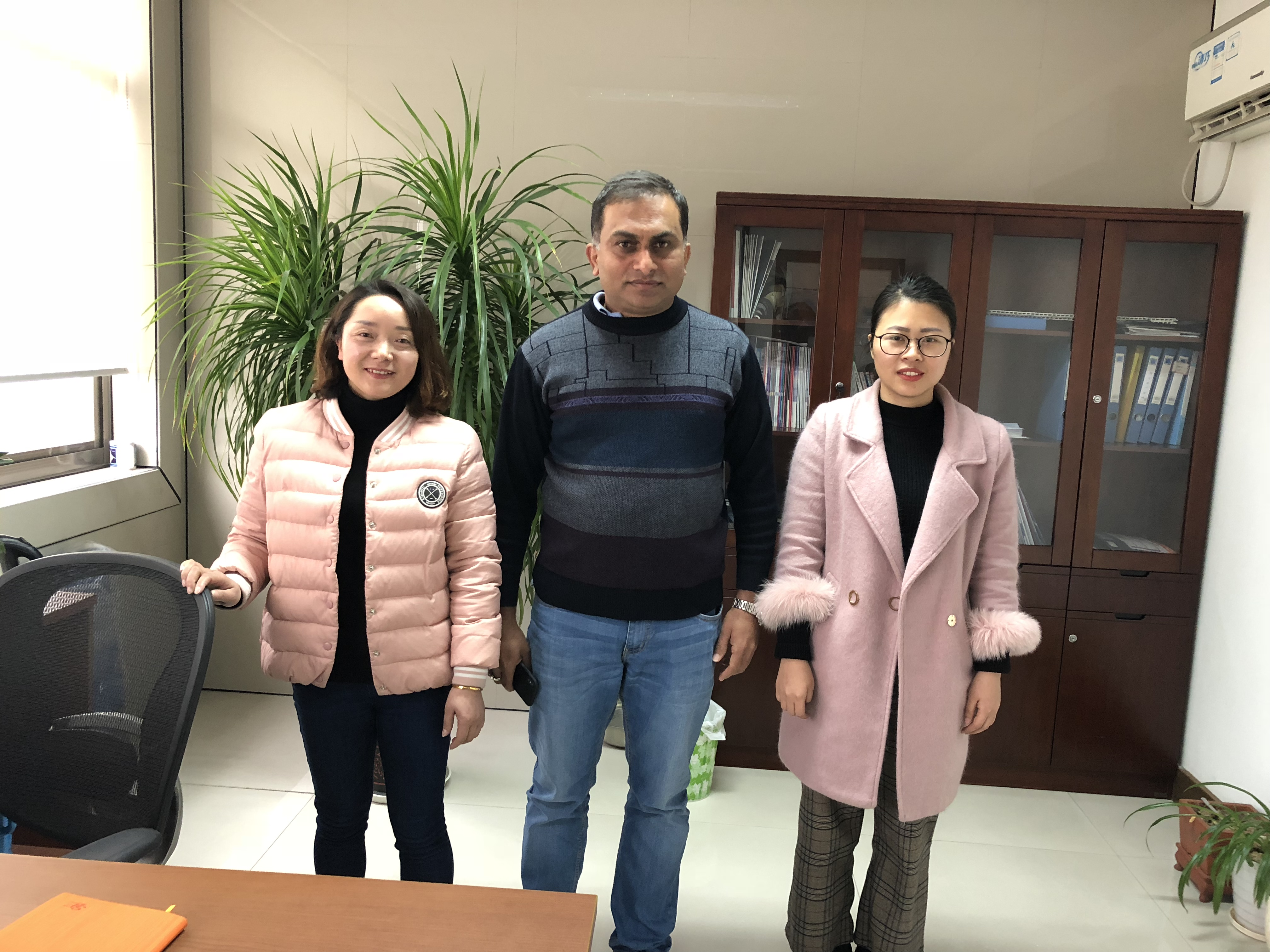 Visitor from India for Metal Roll Forming Machine on 2018. 01.19
