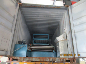 Cut to Length Machine to Mexico Dated March 06,2018