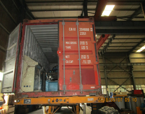Delivery of Guardrail Roll Forming Machine to Thailand on May 07,2018