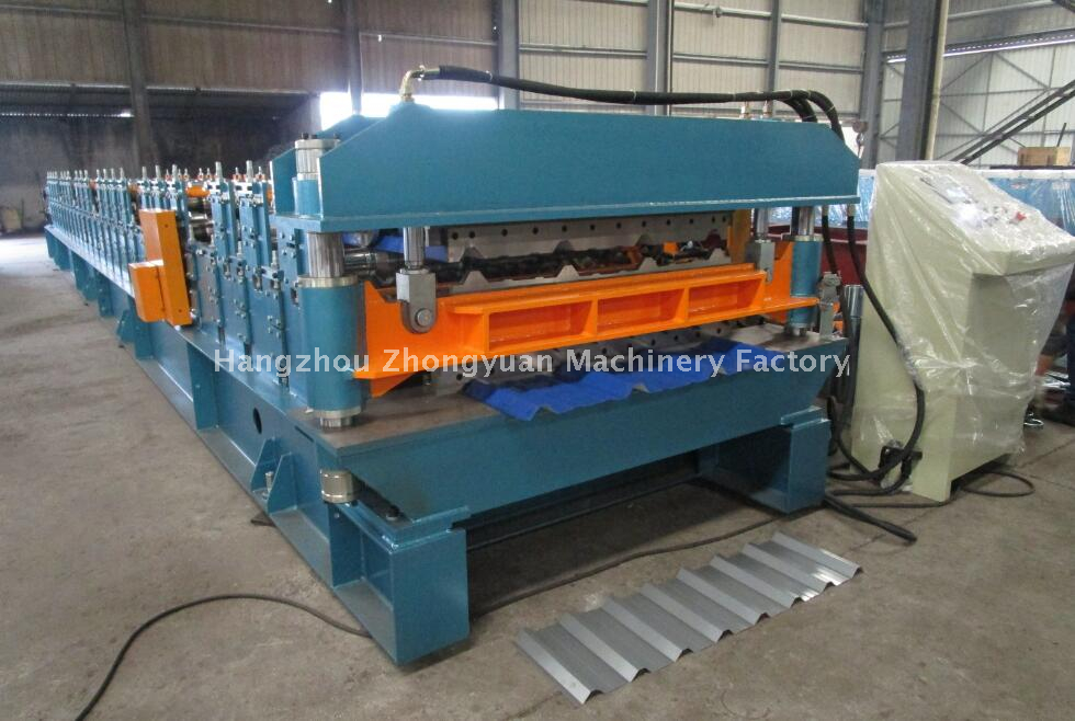 Taiwan Quality Double Layer Metal Rolling Machine with ISO Quality System