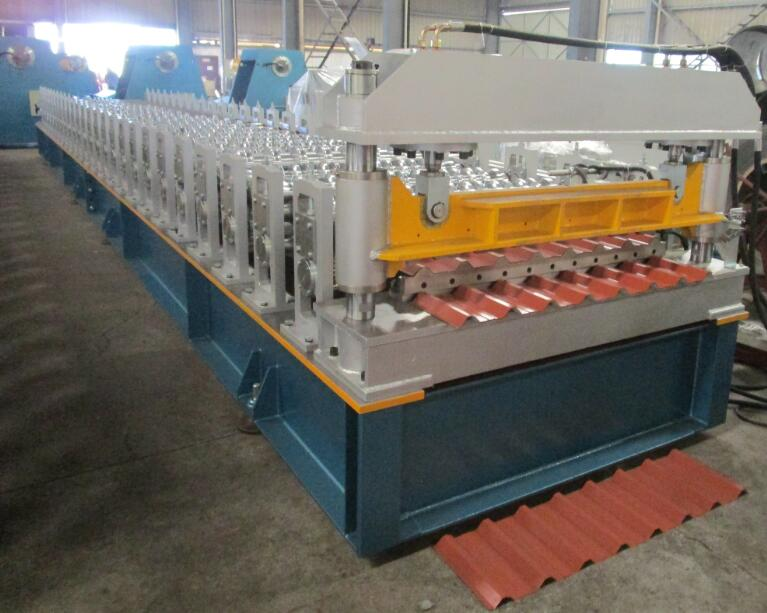 7 Different Point of View to See The Structure of Roll Forming Machine