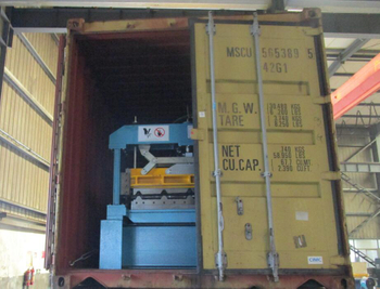 Three containers Corrugated roll forming machines to Egypt on July 29,2020