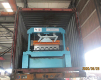 Deck roll forming machine was delivered on May 25,2020