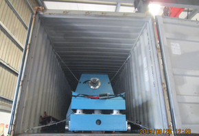 Delivery of 15T hydraulic decoiler with coil car On August 28,2019