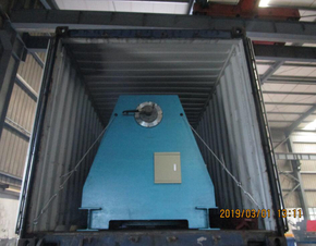 Delivery of automatic roll forming machine to USA on March 01,2019