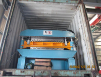 Delivery of Zhongyuan Double layer roll forming machine 07.29