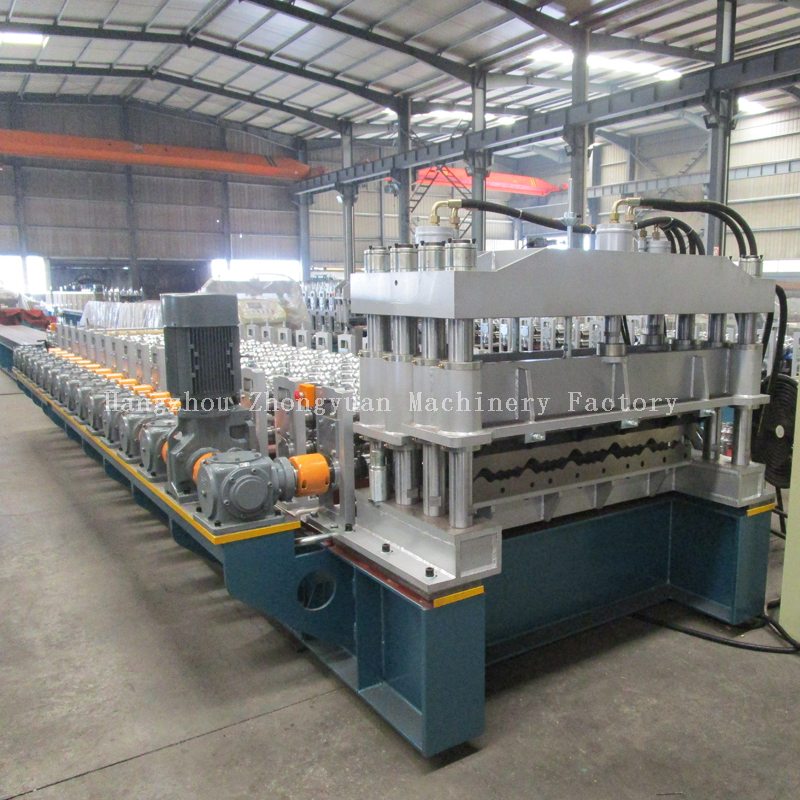 Fast Speed Step Tile Roll Forming Forming Machine